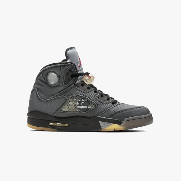 Nike x Off-White Air Jordan V (5) Retro | Black Muslin