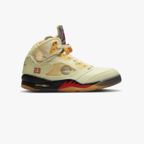 Nike x Off-White Air Jordan V (5) Retro | Sail