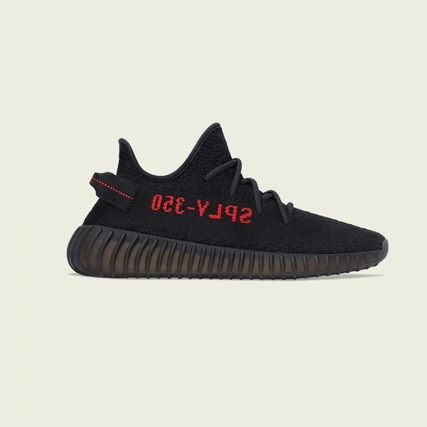 "Adidas Yeezy Boost 350 v2 | ""Bred"" Core Black / Red"