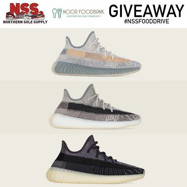 #NSSFoodDrive Yeezy Boost 350 v2 Charity Raffle | Noor Food Bank