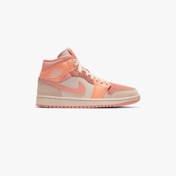 Nike Air Jordan 1 Mid | Apricot Orange